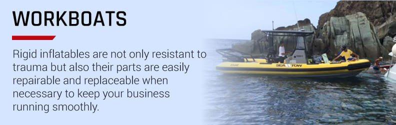 rigid inflatable workboats