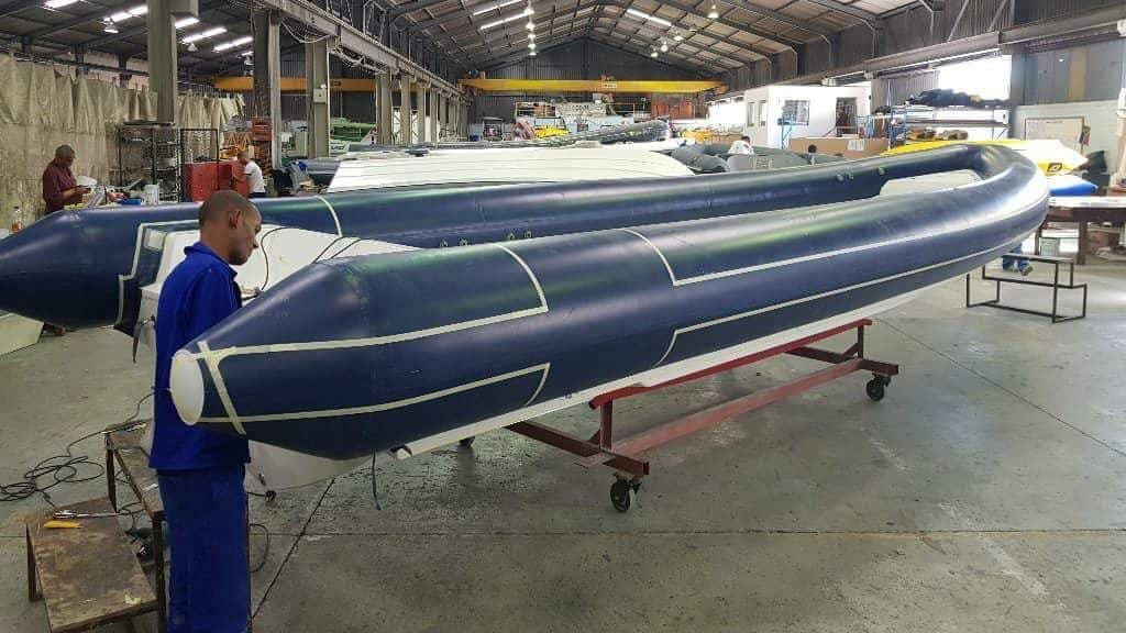 Inflatable Boat Production