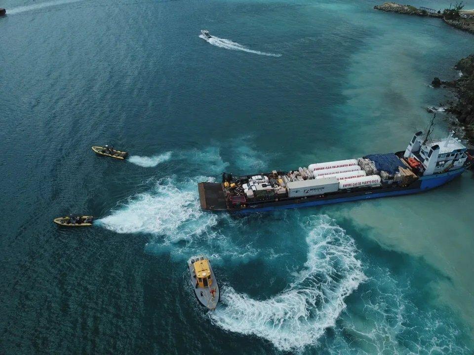 Sea Tow Boat USVI