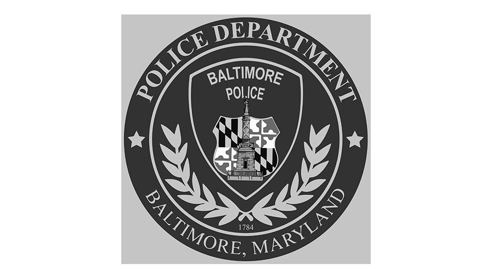 Baltimore Maryland Police Department Logo
